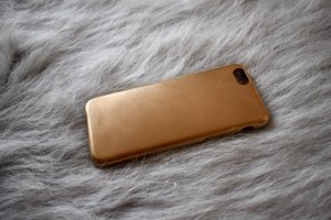 goldfarbenes iPhone 6/6S case