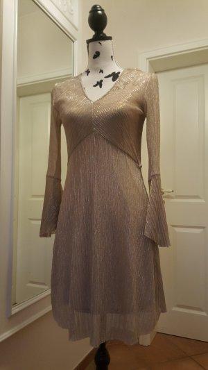 Goldfarbenes Kleid von Mango Suit ♥ neu