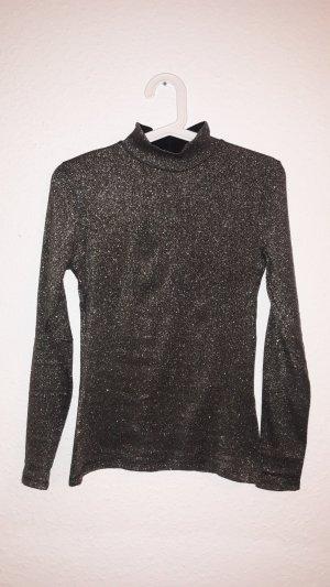 Hallhuber Colshirt zwart-goud