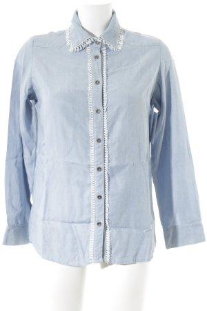 Goldie Langarmhemd himmelblau Casual-Look