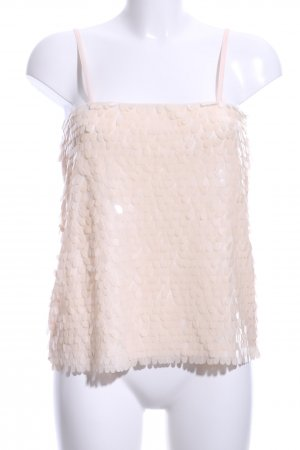 Goldie Spaghetti Strap Top cream elegant