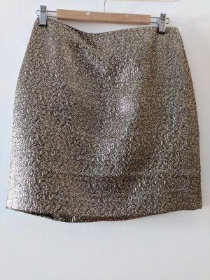 Goldiger Pencilskirt mini