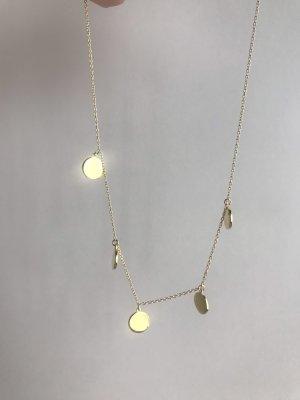 Silver Chain gold-colored