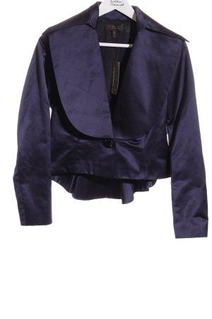 Goldknopf Couture Kurz-Blazer dunkelblau Elegant