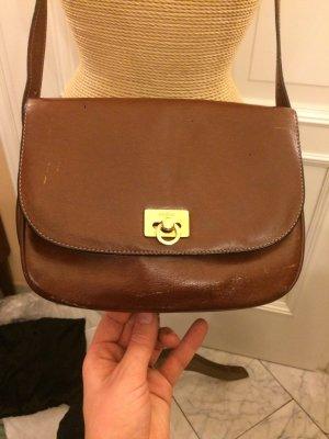 Goldpfeil Echtleder Tasche top Zustand
