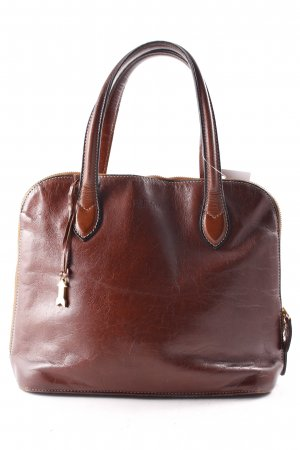 Goldpfeil Handtasche braun Casual-Look