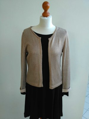 goldschimmer Strickjacke 7/8 Arm