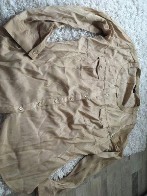 Goldschimmerndes Blusenhemd