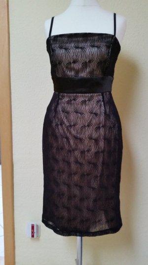 goldschwarzes Kleid von Orsay