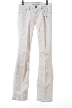 Goldsign Boot Cut Jeans weiß klassischer Stil
