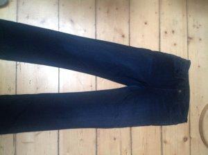 Goldsign Boot Cut Jeans black-dark blue mixture fibre