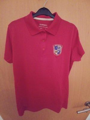 Golf-Poloshirt Rot