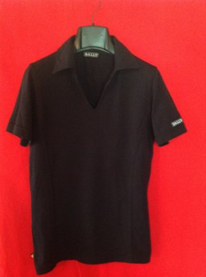 Bally Golf T-Shirt black mixture fibre