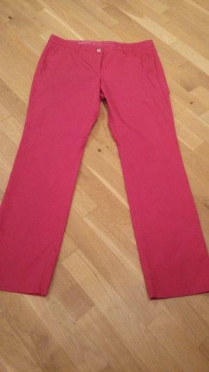Alberto Trousers raspberry-red