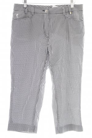 Golfino 3/4-Hose schwarz-weiß Casual-Look