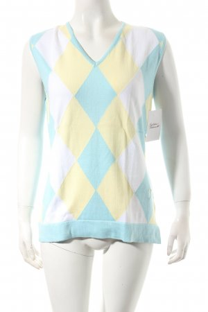 Golfino Cardigan en maille fine multicolore style classique