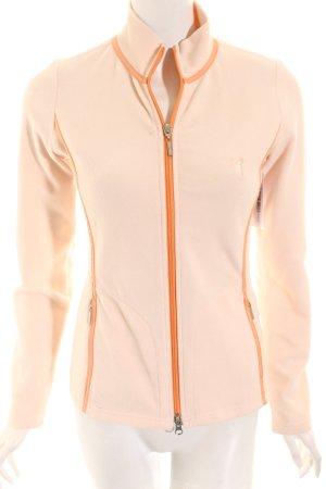 Golfino Fleecejacke hellrosa-apricot Casual-Look