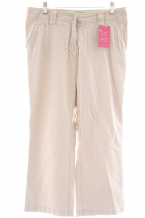 Golfino Low-Rise Trousers beige casual look