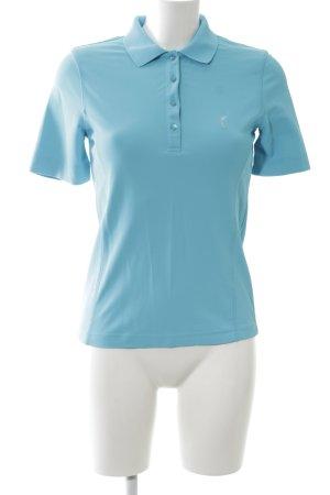 Golfino Polo-Shirt blau Casual-Look
