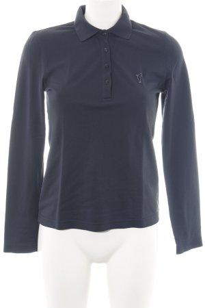 Golfino Polo shirt zwart atletische stijl