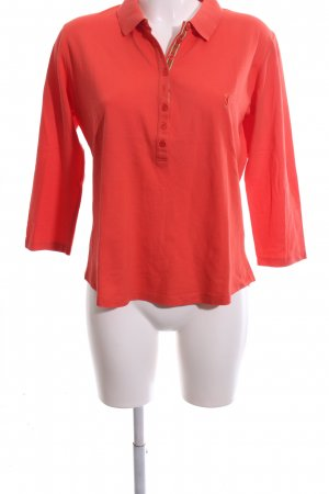Golfino Polo-Shirt rot Casual-Look