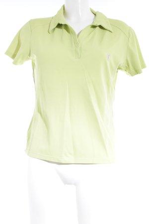 Golfino Polo-Shirt neongelb sportlicher Stil