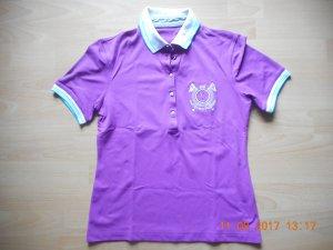 Golfino Camiseta tipo polo lila