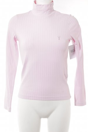 Golfino Turtleneck Shirt pink casual look