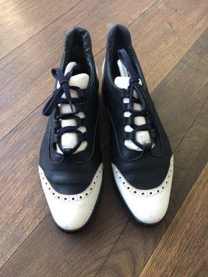 Unützer Zapatos brogue azul oscuro