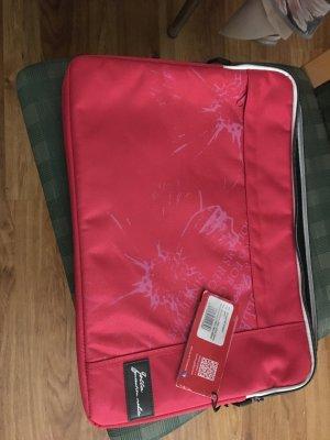 Baronia von Gollas Laptop bag raspberry-red mixture fibre