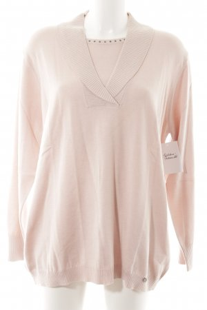 Golle Haug Long Sweater pink simple style