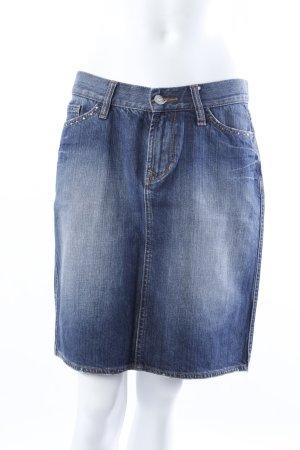 good Jeans Jeansrock blau