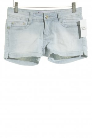 Goodies Jeansshorts himmelblau Casual-Look