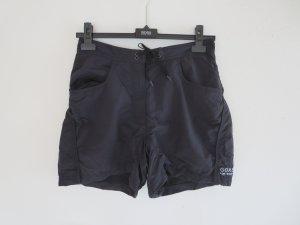Short de sport noir polyamide