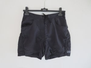 Pantalón corto deportivo negro poliamida