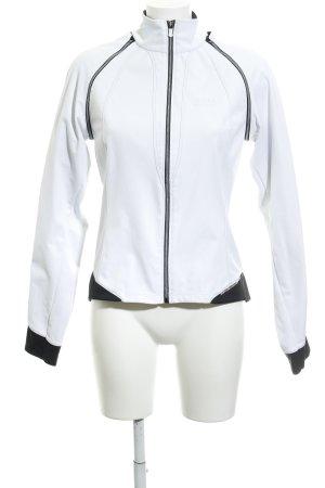Gore Sportjacke weiß-schwarz sportlicher Stil