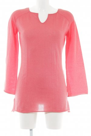 Gorgeous Lange jumper zalm casual uitstraling