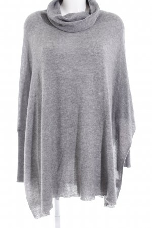 Gorgeous Maglione dolcevita grigio puntinato stile casual
