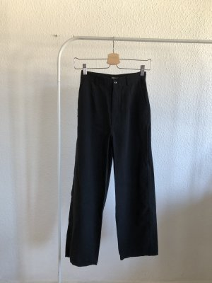 H&M Pantalone a vita alta nero