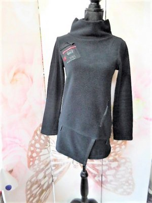 Cop Copine Pullover in pile nero