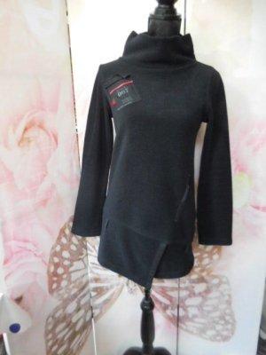 Cop Copine Pullover in pile nero