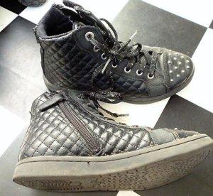 Gr. 36 Geox coole Nieten Sneaker Ankelboots mit Reissverschluss