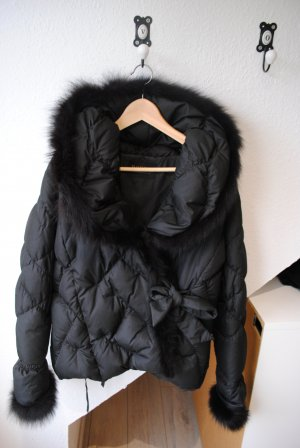 Bogner Manteau en duvet noir