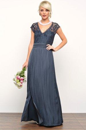 Gr.36 S 34 XS  Maxikleid Abendkleid Vila by Vero Moda Langes Kleid Coctailskleid