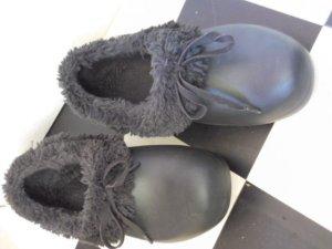Crocs Klompen zwart-magenta