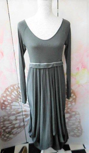 Gr. 38 40 COP et COPINE graues längeres Kleid mit etwas Glitzer hoher Neupreis