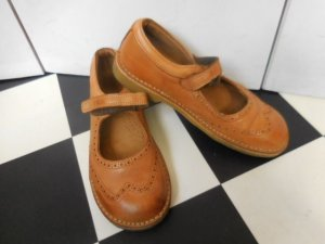Mary Janes light brown leather