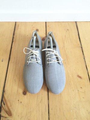 Gr.38 vagabond schnürschuhe jeans stoff