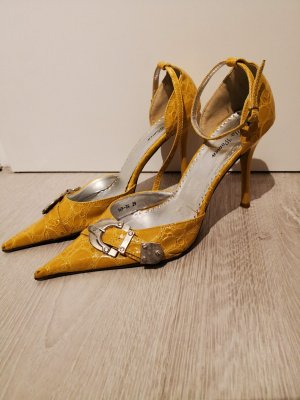 Pumps sand brown-yellow