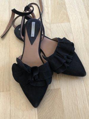 H&M Ballerine à bride arrière noir